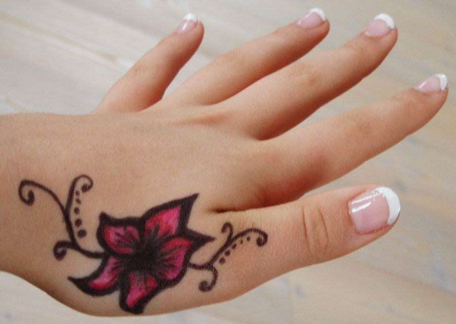 Tattoo On Hand