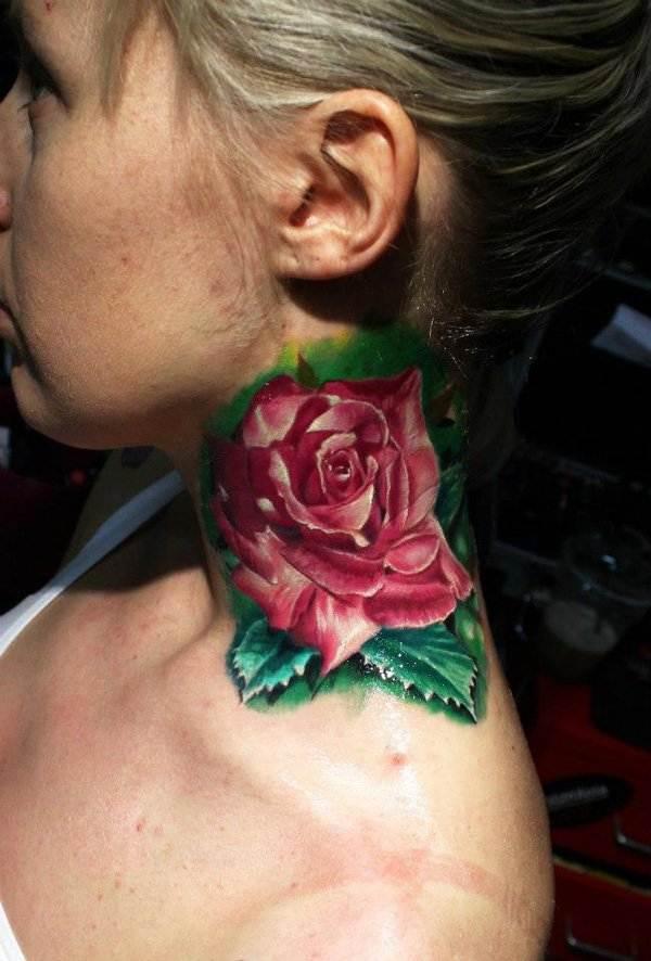 neck tattoos.17