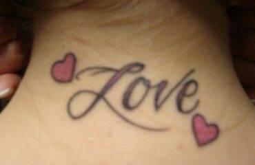 Beautiful Neck Tattoos For Girls