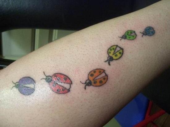 Ladybug Tattoo Designs-20