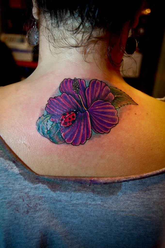 Ladybug Tattoo Designs-8