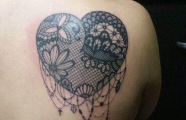 Elegant Lace Tattoo Designs For Women