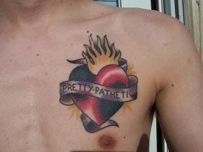 Heart Tattoo for Men
