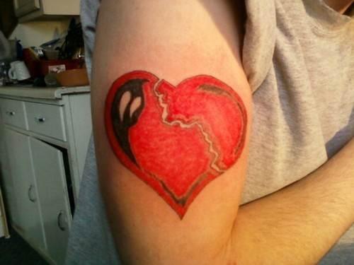 Heart Tattoo on Hand