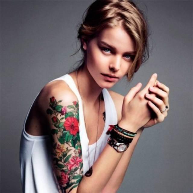 Rose Tattoo Designs for Girls12