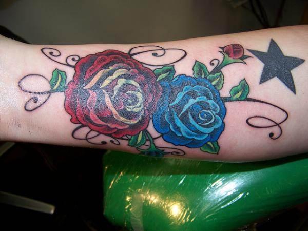 Rose Tattoo Designs for Girls21