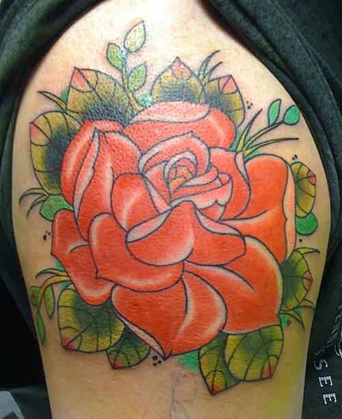 Rose Tattoo Designs for Girls5
