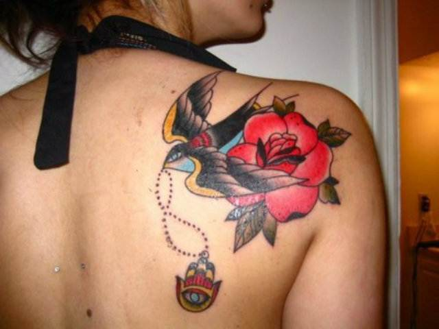 Rose Tattoo Designs for Girls7