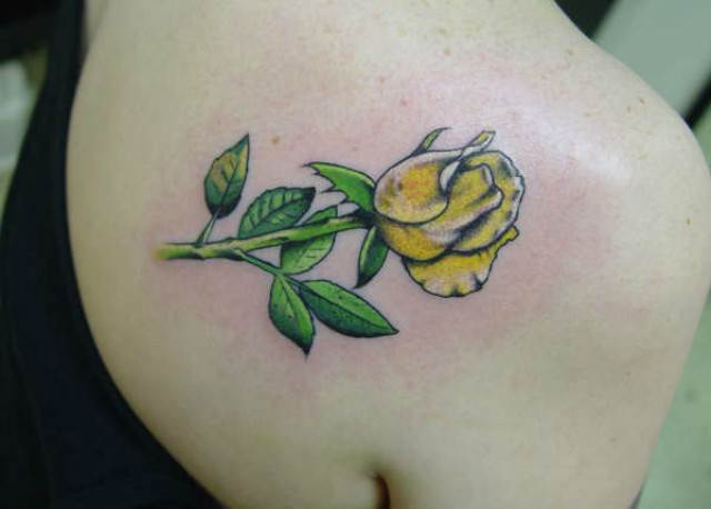 Rose Tattoo Designs for Girls8