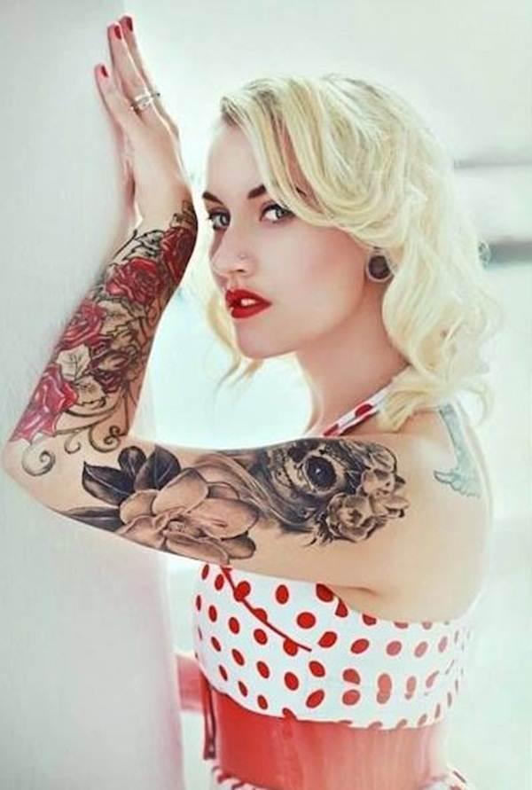 Rose Tattoo Designs for Girls41