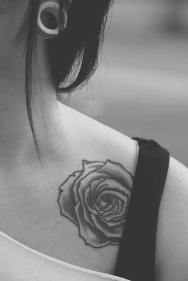 Rose Tattoo Designs for Girls43