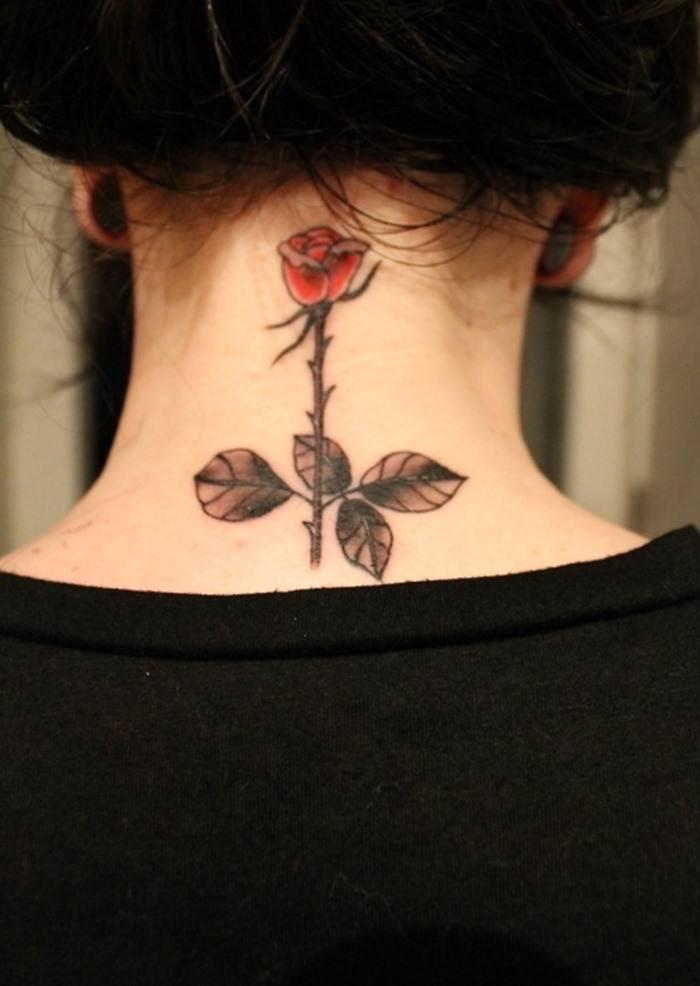 Rose Tattoo Designs for Girls45