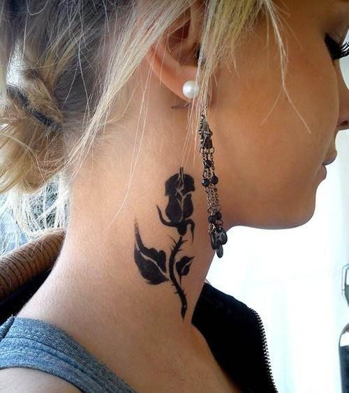 Rose Tattoo Designs for Girls50