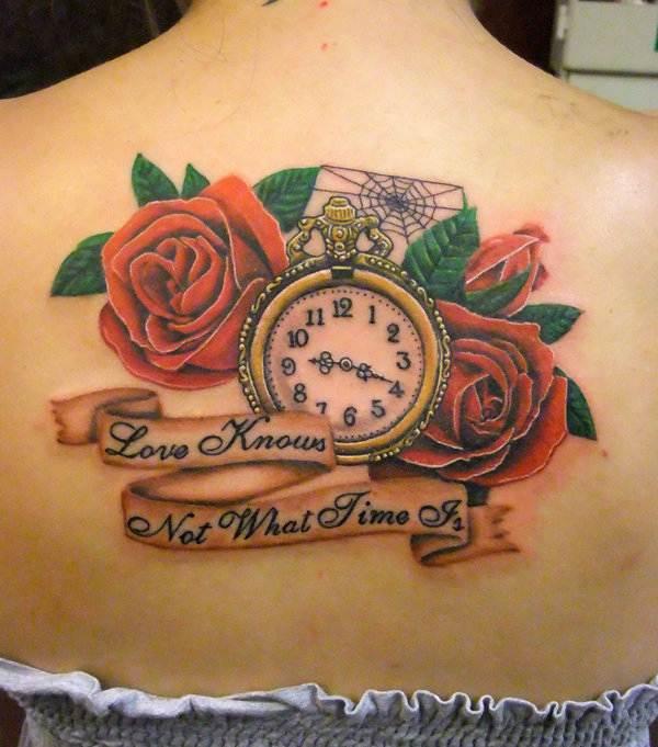 Rose Tattoo Designs for Girls26