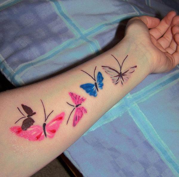 A Handful Of Butterflies