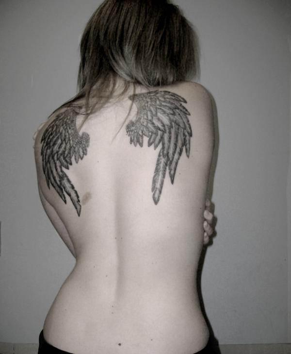 Sexy Back Angle Tattoo
