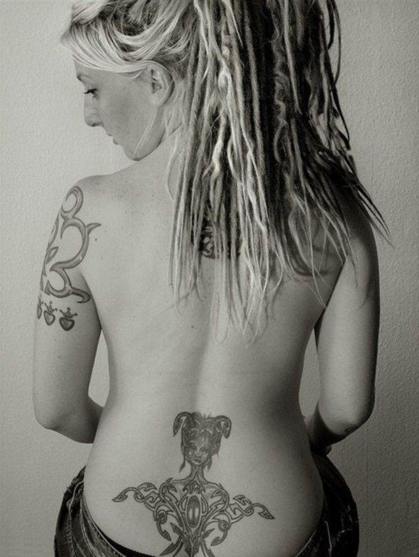 Lower back tattoos For girls (14)
