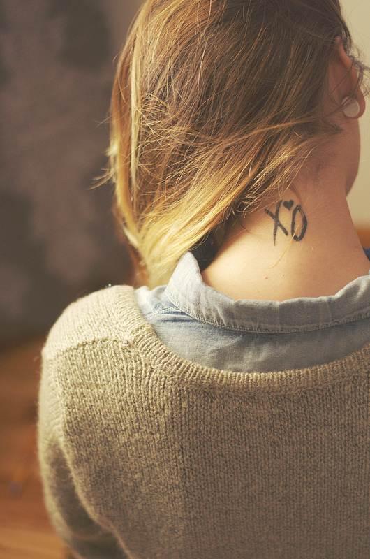 Best Neck Tattoo for Girls