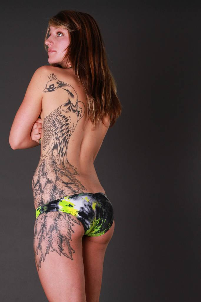 Peacock Tattoo for Girls