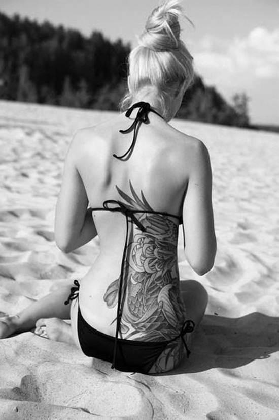 back waist tattoos (32)