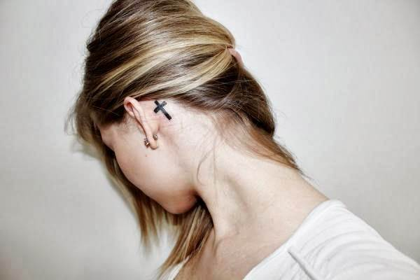 Ear Tattoos 37