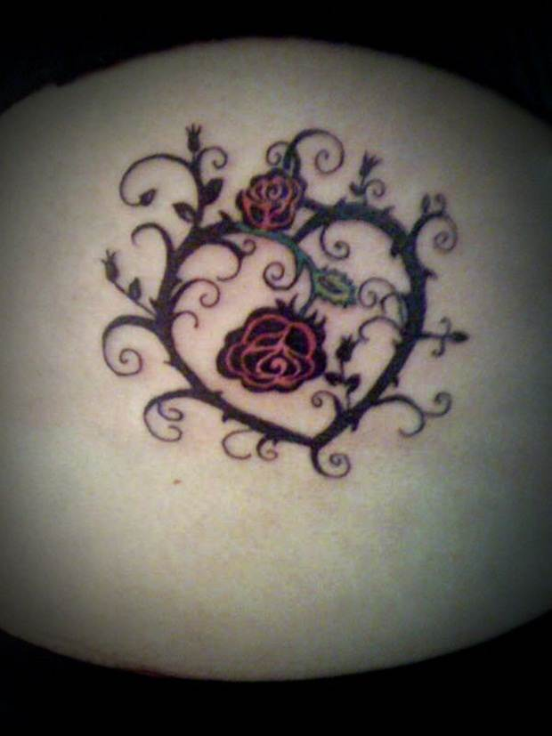 Sexy Lower Back Tattoos for Women (14)