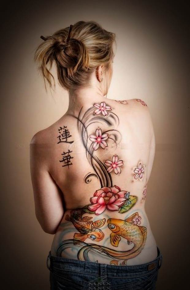 Sexy Lower Back Tattoos for Women (36)
