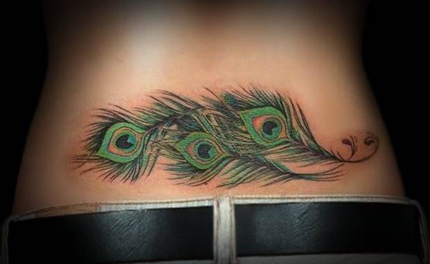 Sexy Lower Back Tattoos for Women (9)