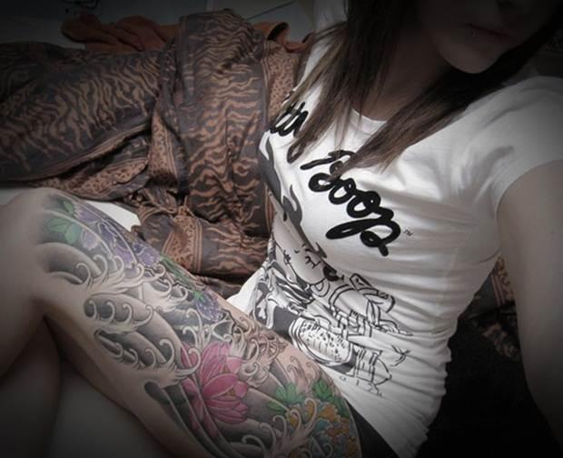 Sexy Leg Tattoo Designs for Women (10)