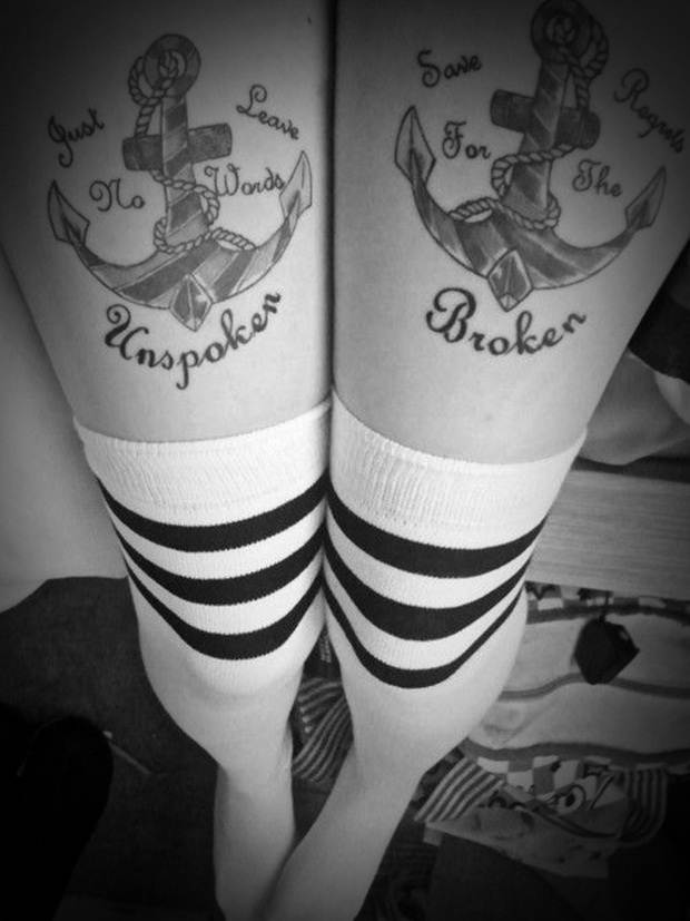 Sexy Leg Tattoo Designs for Women (44)