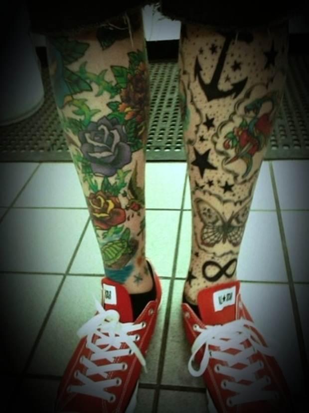 Sexy Leg Tattoo Designs for Women (42)