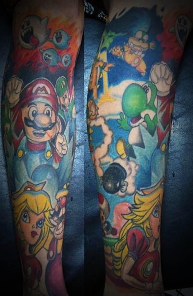Sexy Leg Tattoo Designs for Women (38)