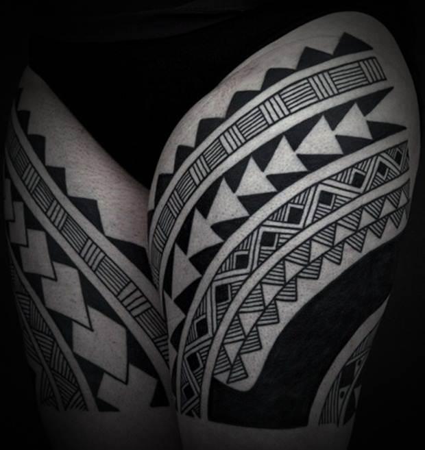 Sexy Leg Tattoo Designs for Women (21)