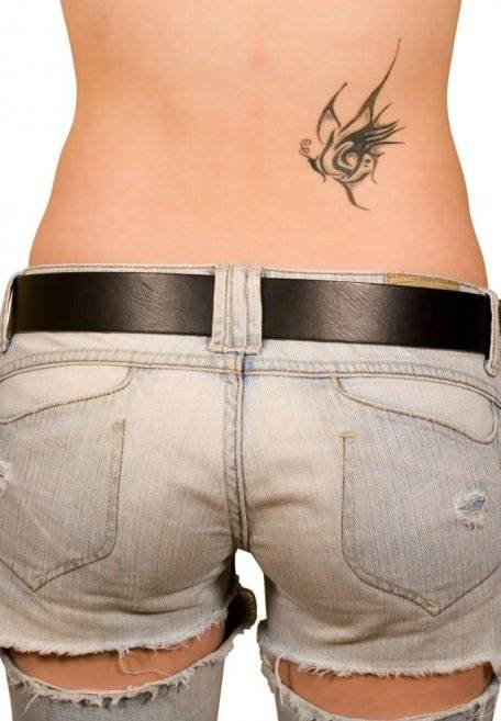 Best Small Back Tattoo for Women