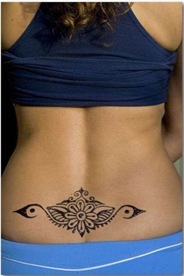 Lower back tattoo designs for women42