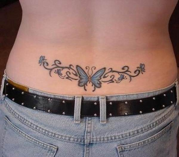 Lower back tattoo designs for women62