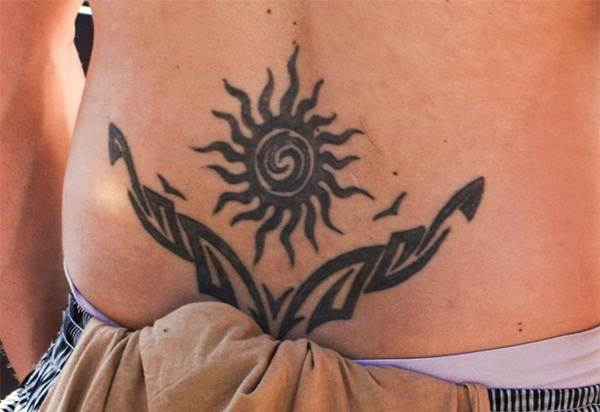 Lower back tattoo designs for women68