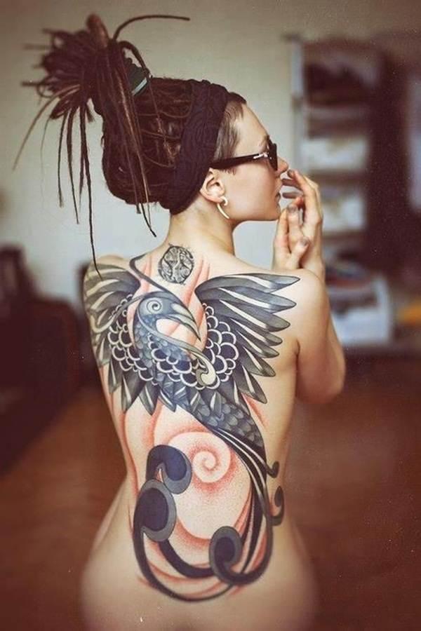 Phoenix tattoo designs33