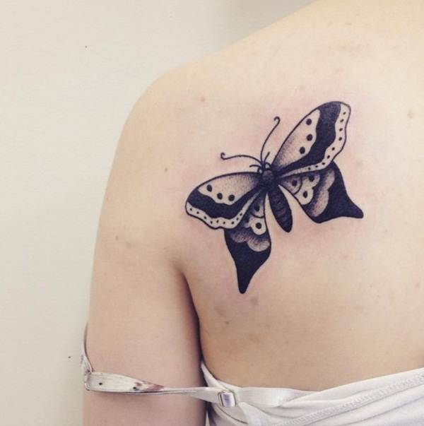 Cute Butterfly tattoo designs19