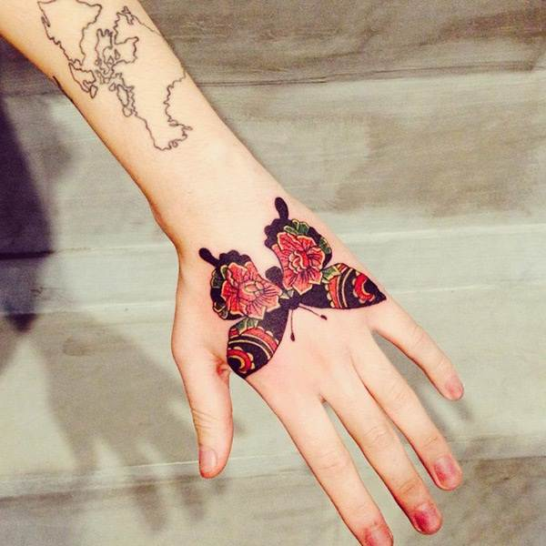 Cute Butterfly tattoo designs25