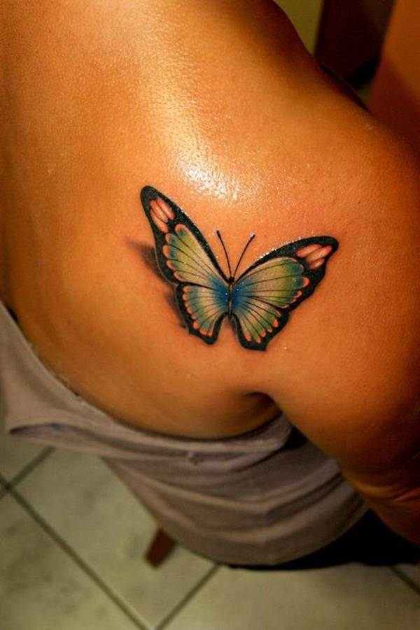 Cute Butterfly tattoo designs27