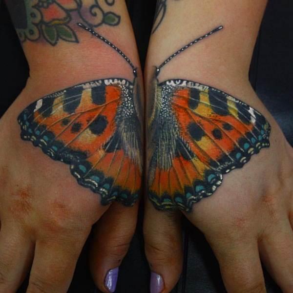 Cute Butterfly tattoo designs24