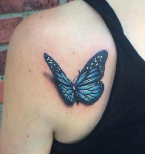 Cute Butterfly tattoo designs16