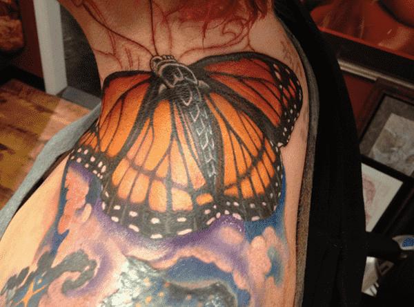 Cute Butterfly tattoo designs3