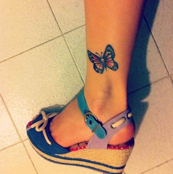 Cute Butterfly tattoo designs29