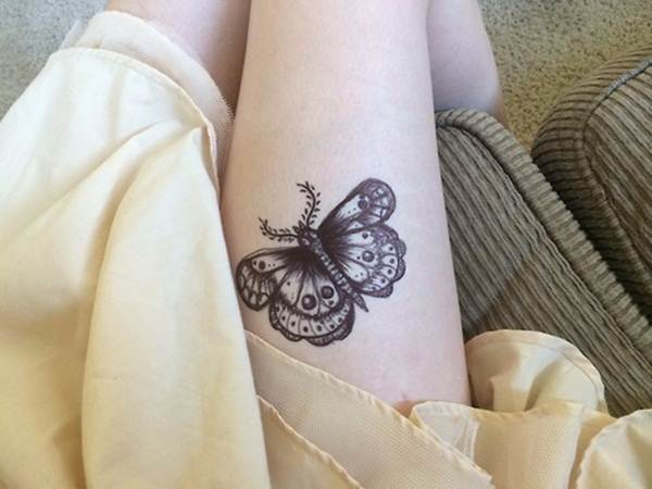 Cute Butterfly tattoo designs41