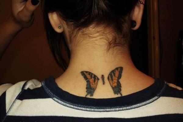 Cute Butterfly tattoo designs47