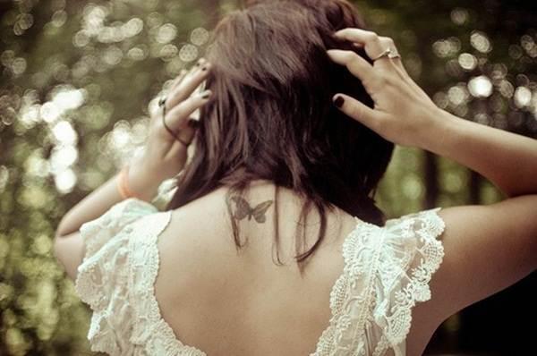 Cute Butterfly tattoo designs50