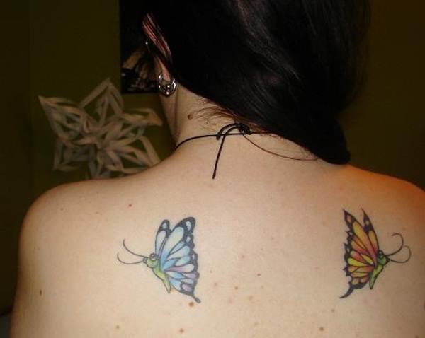 Cute Butterfly tattoo designs54