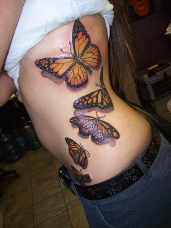 Cute Butterfly tattoo designs55